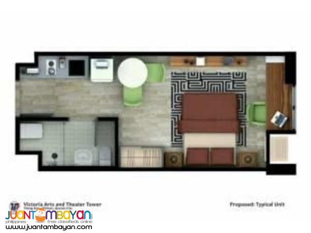 Condo Unit in Quezon City near GMA7 & MRT Kamuning Station