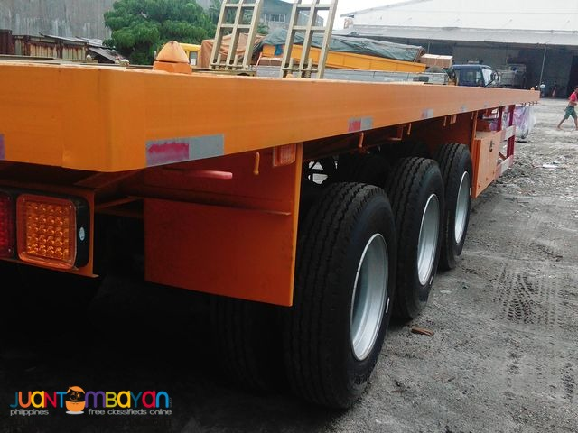 HIGHBED 40FT TRI AXLE FLATBED SEMI TRAILER