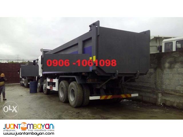 EURO 4 HOwo A7 Dump truck 12 wheeler