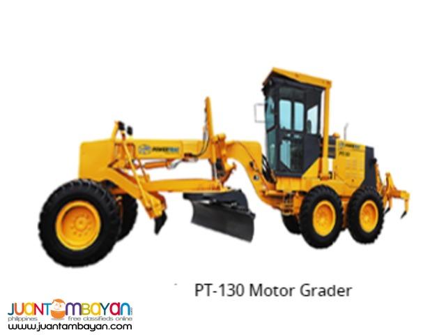 MOTOR GRADER PT130 CUMMINS ENGINE