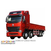 EURO 4 Sinotruk HOWO 6x4 Drop Side CARGO Trucks 10 wheeler