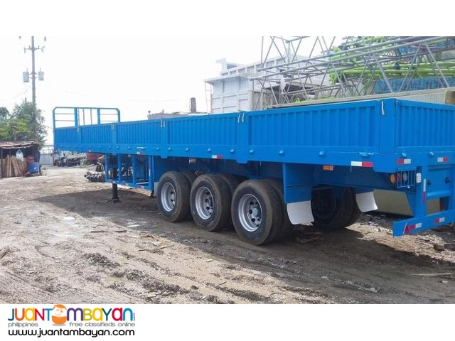 BRAND NEW TRI AXLE HIGHBED WITH SIDINGS