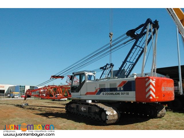 Zoom lion Zcc 550 crawler crane
