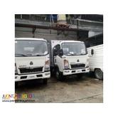 4 & 6 Wheeler Closed Aluminum van Howo Sinotruk