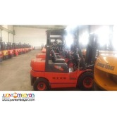 Electric Forklift 4 Wheels 2 Tons Lonking
