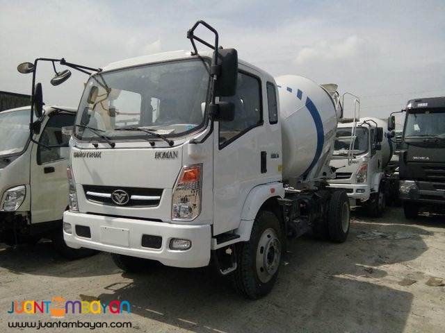 6 Wheeler Mixer truck 4 cubic Sinotruk