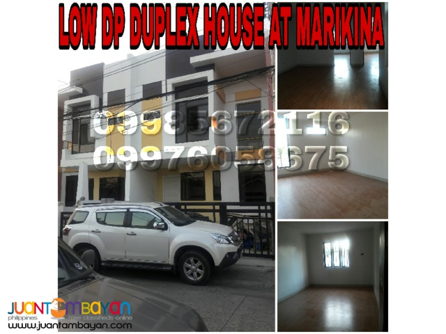 House for sale at Marikina Low DP
