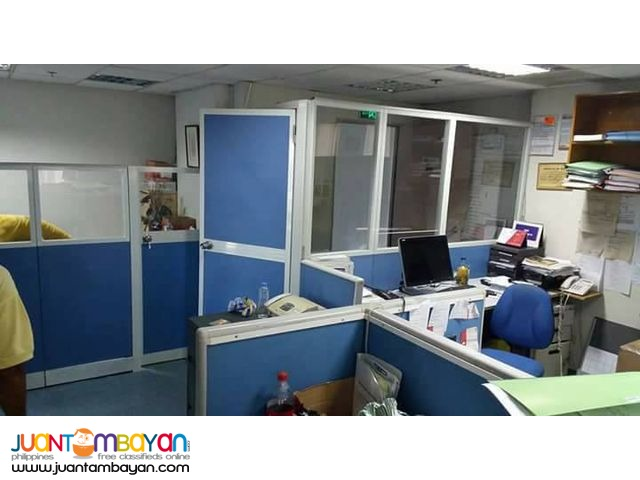 Office Partition Done Install