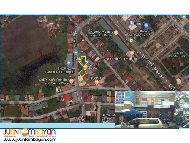 Commercial space for lease in Bulacan
