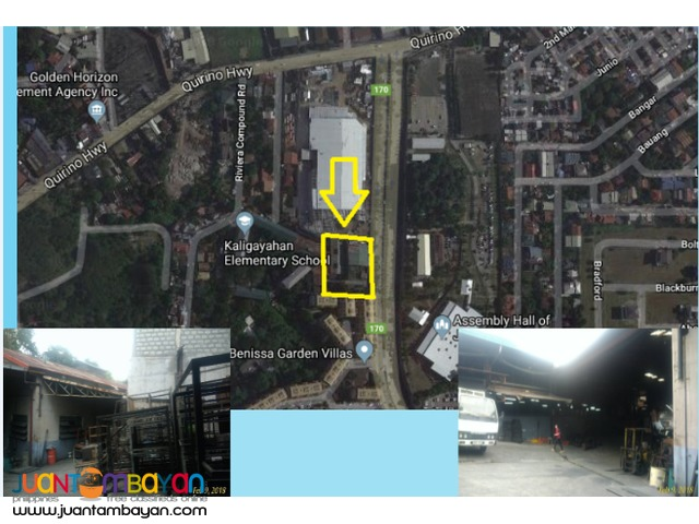 Warehouse for lease in QC