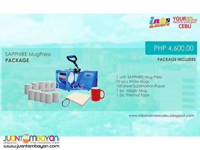 Cebu Supplier - Mug Press Without Printer Package | Cebu