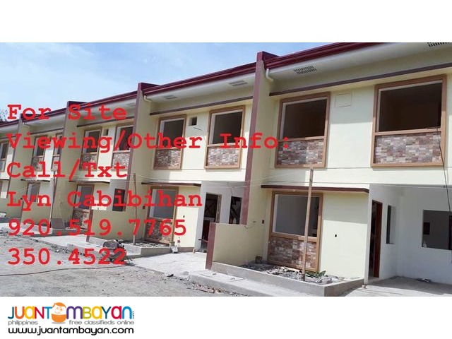 Affordable House and Lot (Townhouse Unit)