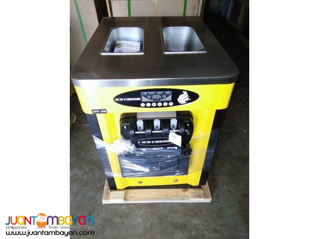 SOFT ICE CREAM MACHINE 3 NOZZLES