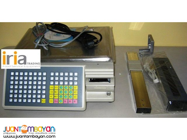 WEIGHING SCALE WITH BARCODE PRINTER