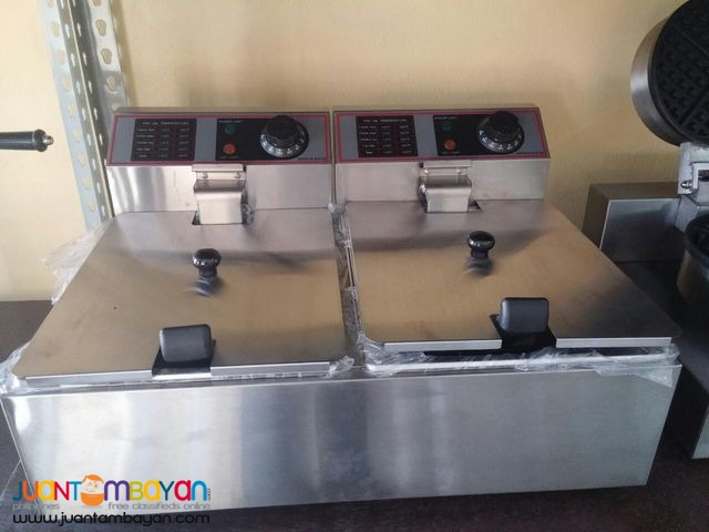 Electric Deep Fryer (DOUBLE)