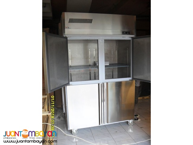 4 Door Upright Cabinet Chiller