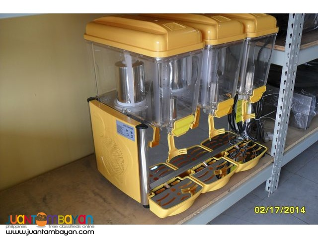JUICE DISPENSER 3 TUBS