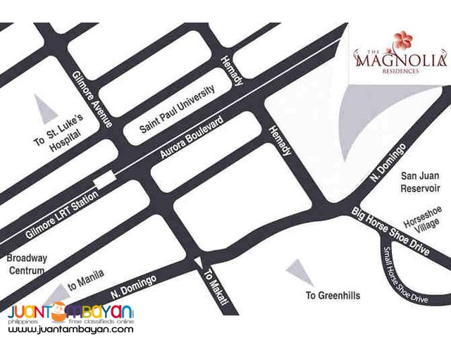 The Magnolia Residences 2br condo for sale in New Manila