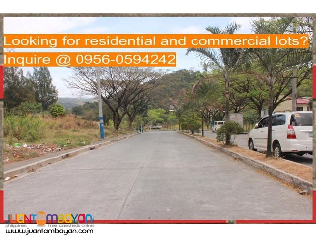 Sumulong Highway Antipolo vacant lots for sale