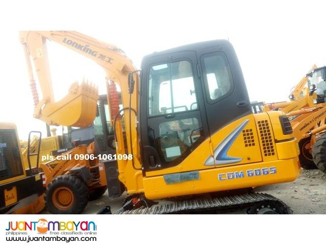 LONKING CDM6065 HYDRAULIC EXCAVATOR 0.25 CBM