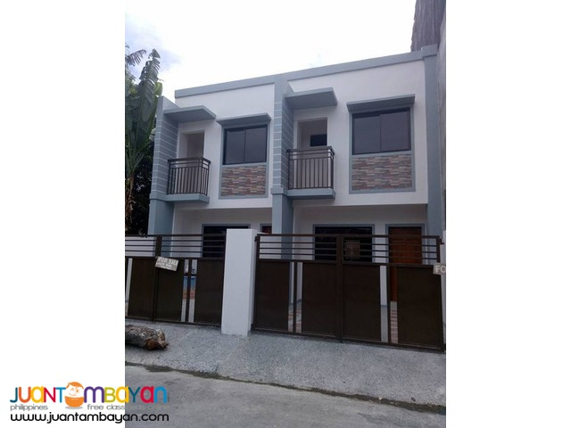 RFO Townhouse near Wilcon Depot Mindanao Ave Quezon City