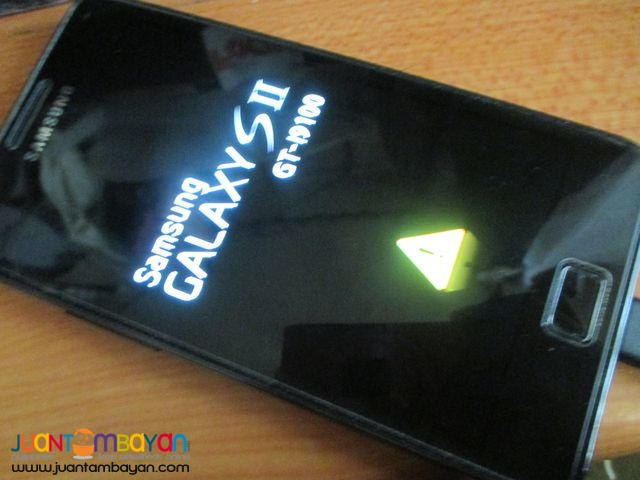 Samsung Galaxy S2 16GB (Tempered Glass Protected)