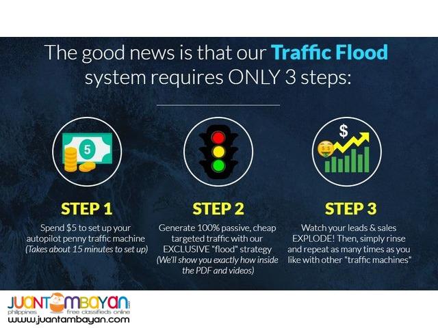 traffic flood traffic flood
