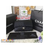 CHANEL CHEVRON FLAP BAG - CHANEL CHEVRON SLING BAG