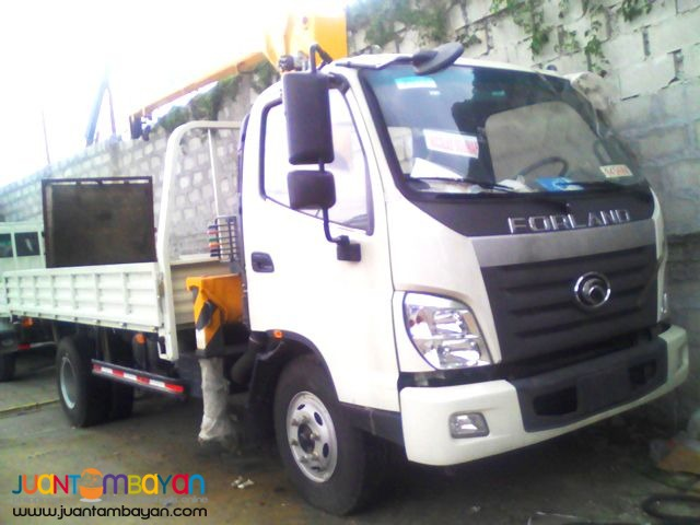 6 Wheeler Boom Truck  3.2Tons  (Yuchai Engin