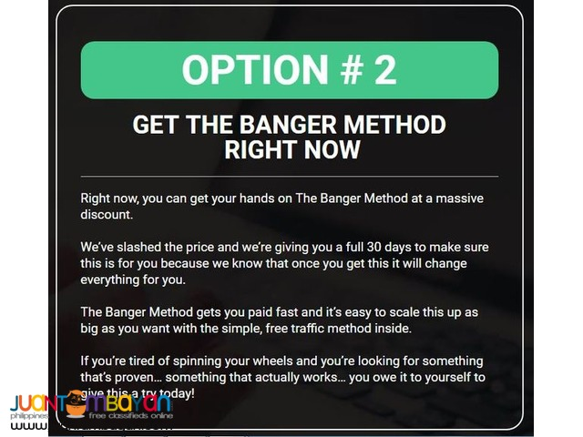the banger method