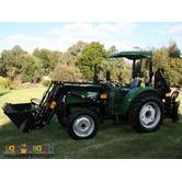 D-E Farm Tractor Backhoe Loader