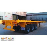 40ft Tri-Axle Flatbed Semi- Trailer (12 lock) 45TonS