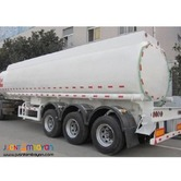 Tri-Axle 40KL Carbon Steel Fuel Trailer