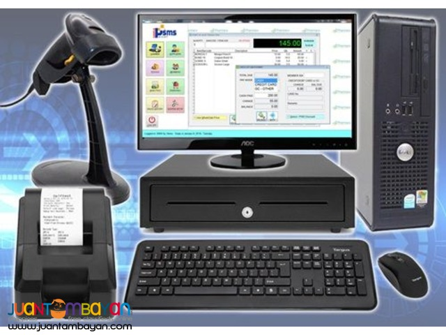 POS System with Stock and Inventory Management