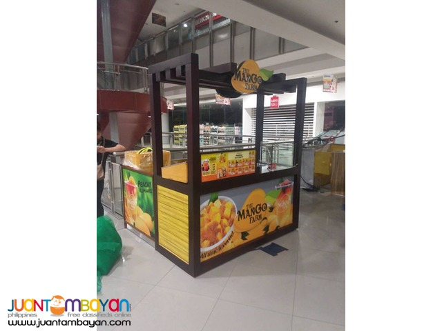 Mall Food Cart Maker and Mall Food Kiosk Maker
