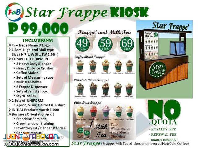 Star frappe the drinks that can refresh our body!