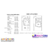 Single Attached House in Villa Illuminada Lapu-Lapu (108m² 4BR)