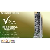 P17K MONTHLY VISTA RECTO PRE-SELLING CONDO IN MANILA