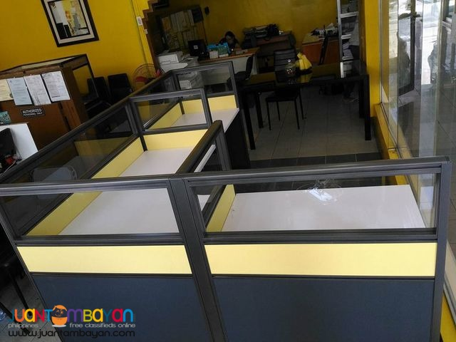 JVSG Office Modular Partition done Install