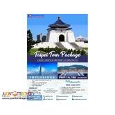 4D3N Taipei Package via Cebu Pacific