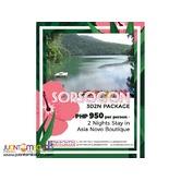 3D2N Sorsogon Package