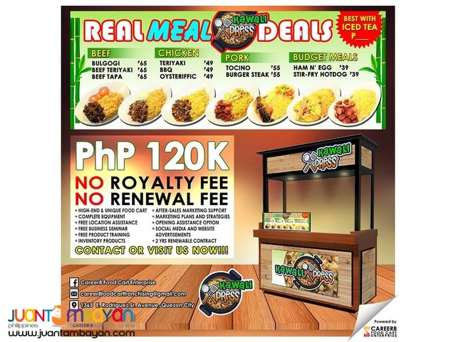 Trusted Food Cart Affordable Franchising Business