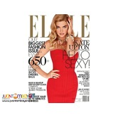 Elle magazine September 2013 Kate Upton