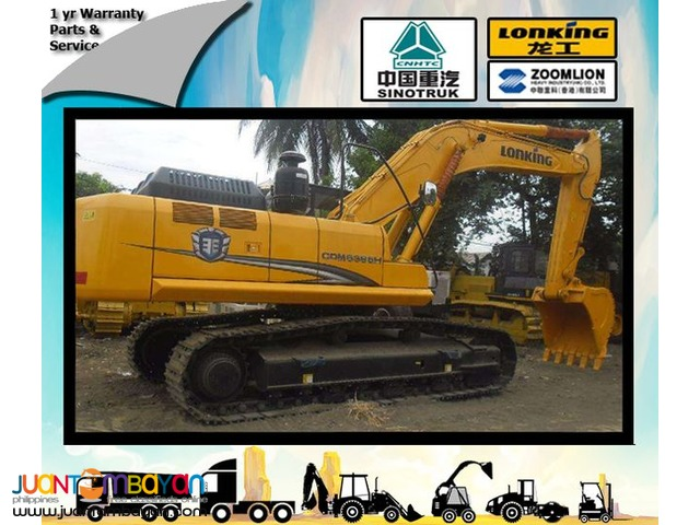 Brand new Backhoe 1.6cbm Bucket Size CDM6365 Lonking