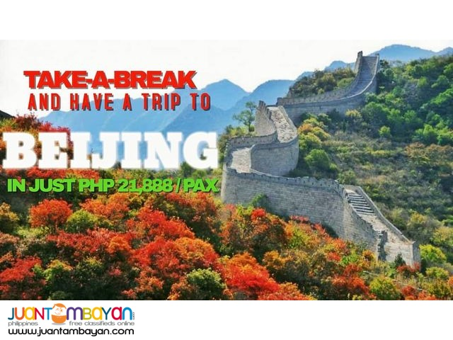4D3N Beijing Greatwall All In Package + Airfare & Visa