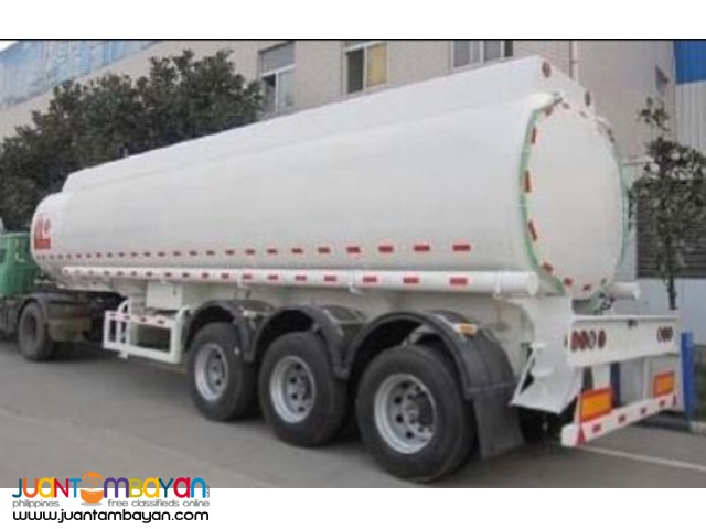 Tri-axle Carbon Steel Fuel Trailer