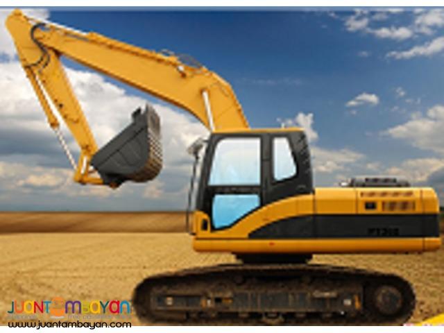 backhoe excavator PT360