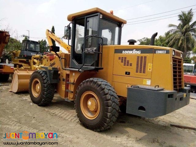 WHEEL LOADER CDM833 1.7 CUBIC LONKING FOR SALE