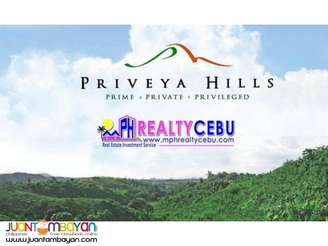 727sqm Lot For Sale at Priveya Hills in Talamban Cebu