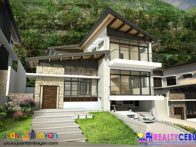 4BR 257.06 sqm Uphill House at the Northridge in Cebu City